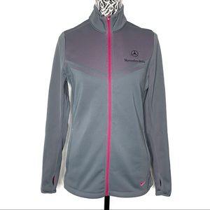 Nike Golf Mercedes Benz zip up jacket medium